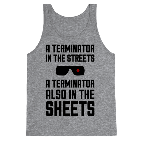 A Terminator In The Streets Tank Top
