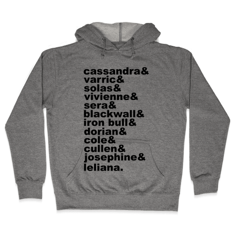 DAI Companions List Hooded Sweatshirt