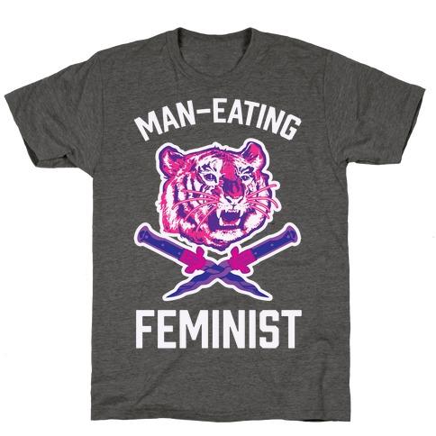 Man-Eating Feminist T-Shirt