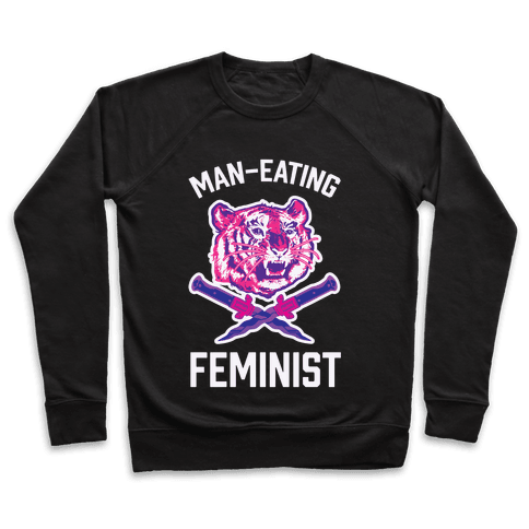 Man-Eating Feminist Pullover