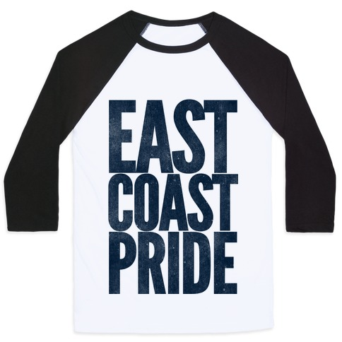 East Coast Pride Baseball Tee