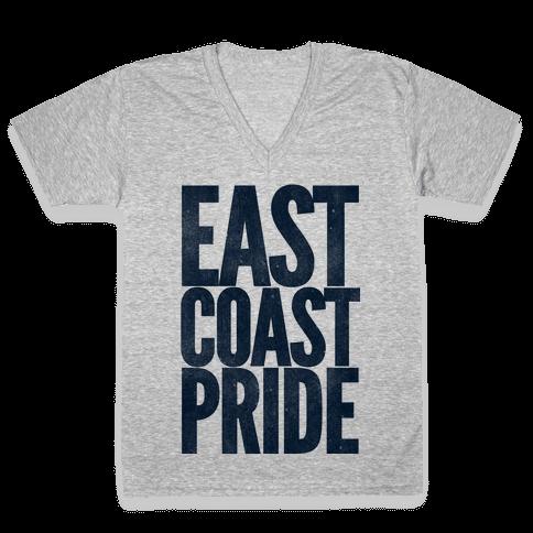 East Coast Pride V-Neck Tee Shirt
