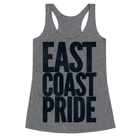 East Coast Pride Racerback Tank Top