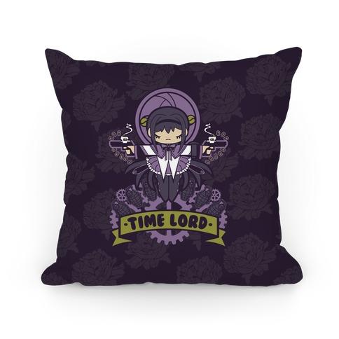 Time Lord Homura Akemi Pillow