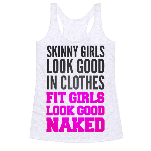 Skinny Girls Look Good In Clothes Fit Girls Look Good Naked