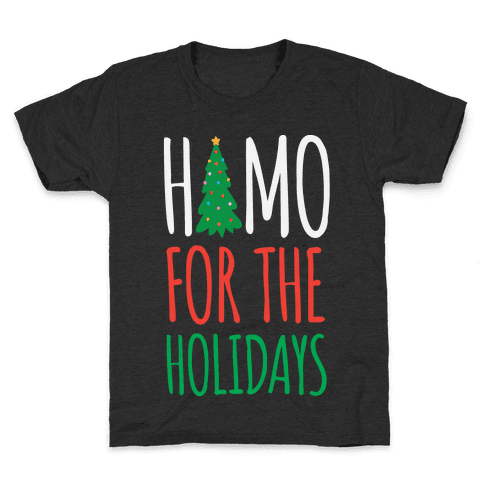 Homo For The Holidays Kids T-Shirt