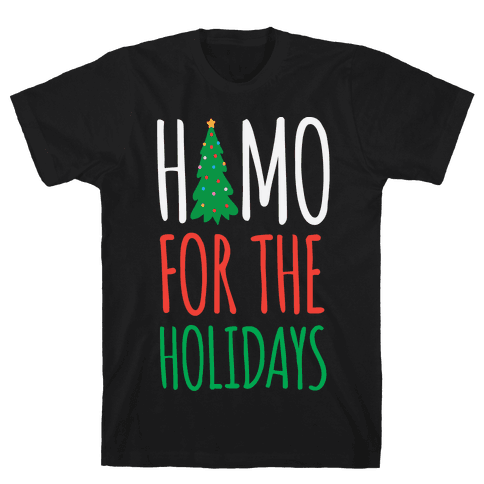 Homo For The Holidays Mens T-Shirt