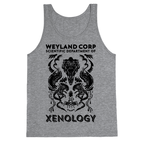 Weyland Corp Scientific Department Of Xenology Tank Top