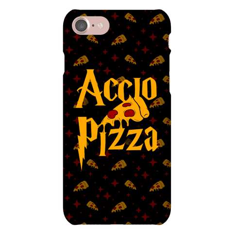 Accio Pizza Phone Case