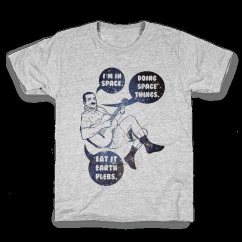 Commander Hadfield Kids T-Shirt