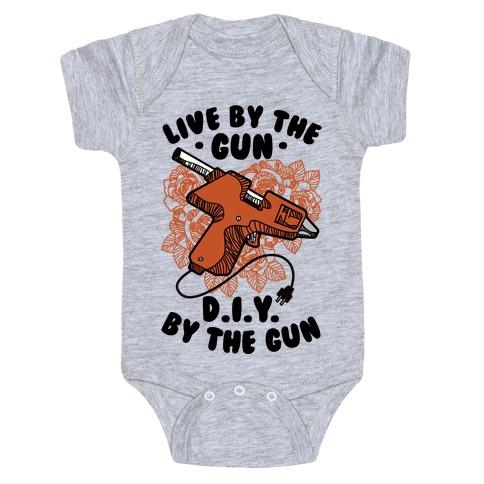 Live By the Gun DIY By the Gun Baby Onesy