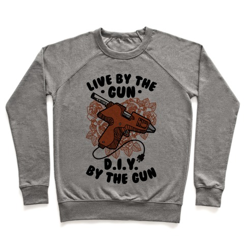 Live By the Gun DIY By the Gun Pullover