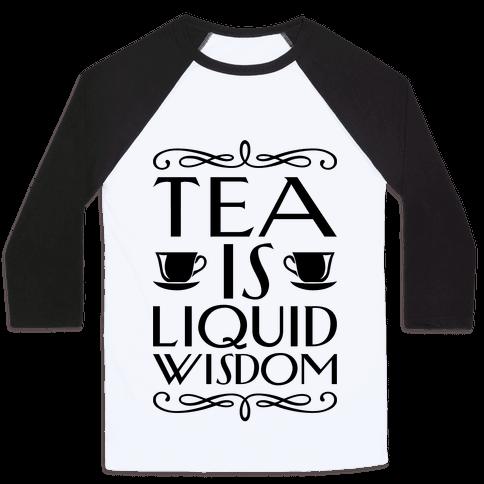 Liquid Wisdom Baseball Tee