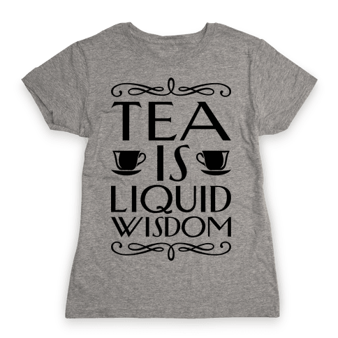 Liquid Wisdom Womens T-Shirt