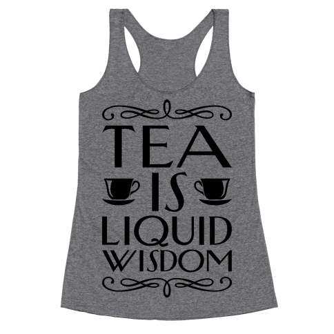 Liquid Wisdom Racerback Tank Top