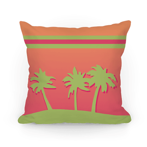 Palm Tree Pillow Pillow