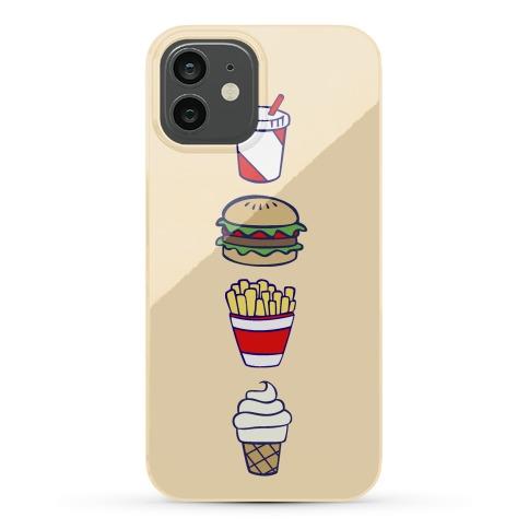 Cute Fast Food Phone Case