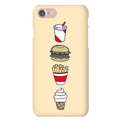 Cute Fast Food Phone Case