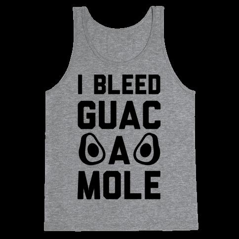 I Bleed Guacamole Tank Top