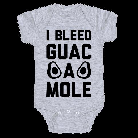 I Bleed Guacamole Baby Onesy