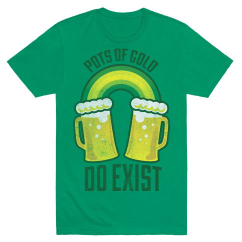 Pots Of Gold Mens T-Shirt