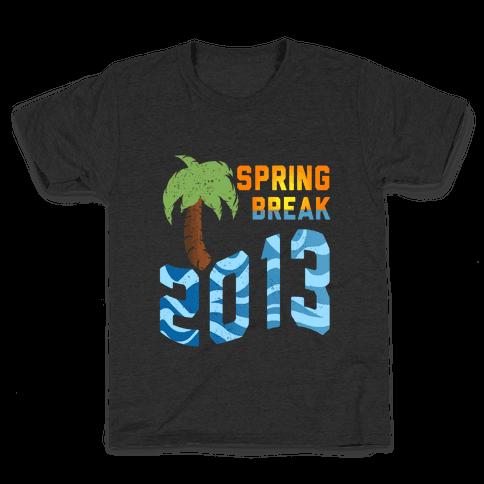 Spring Break 2013 (Tank) Kids T-Shirt