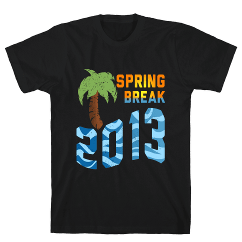 Spring Break 2013 (Tank) Mens T-Shirt