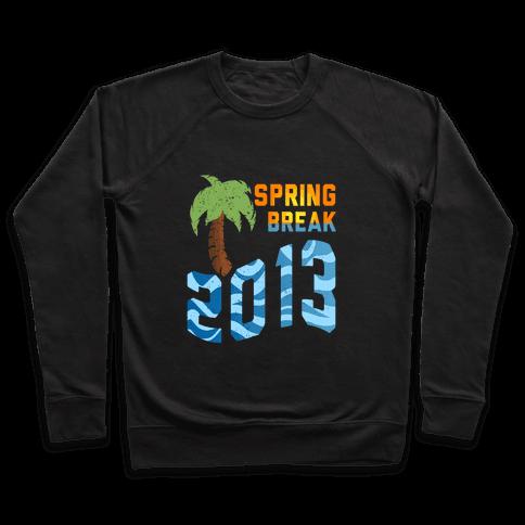 Spring Break 2013 (Tank) Pullover
