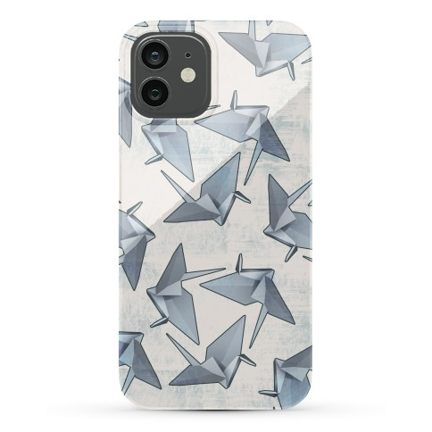 Origami Paper Crane Phone Case