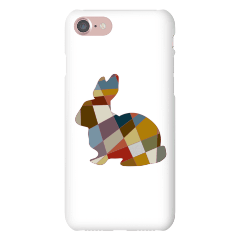 Mosaic Pattern Bunny Phone Case