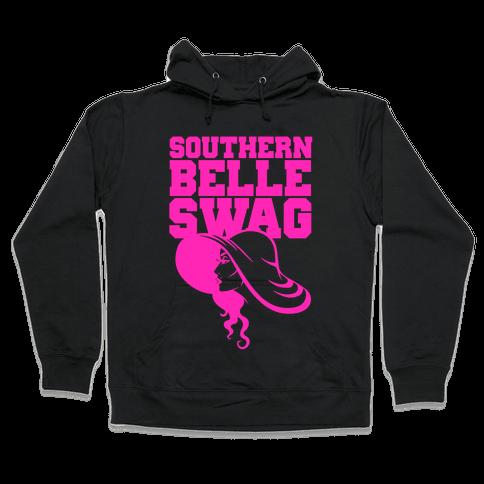Southern Belle Swag Hooded Sweatshirt