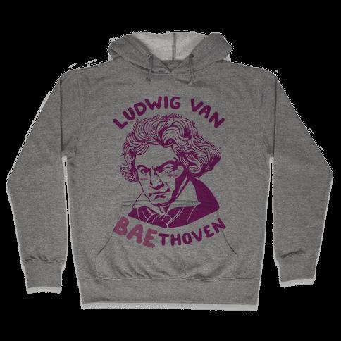 Ludwig Van Baethoven Hooded Sweatshirt