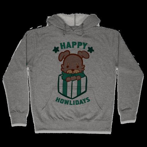 Happy Howlidays Hooded Sweatshirt