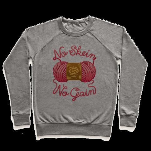 No Skein, No Gain Pullover