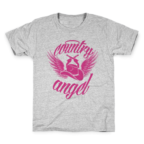Country Angel Kids T-Shirt