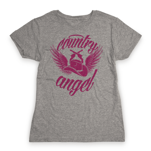 Country Angel Womens T-Shirt