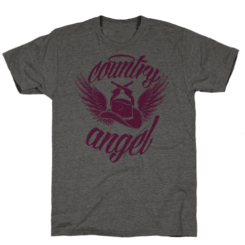 Country Angel Mens T-Shirt