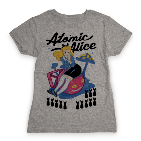 Atomic Alice Womens T-Shirt