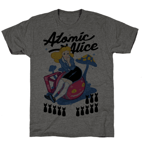 Atomic Alice Mens T-Shirt