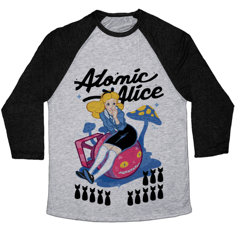 Atomic Alice Baseball Tee