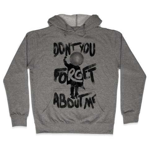 Pluto Don't You Forget About Me Hooded Sweatshirt