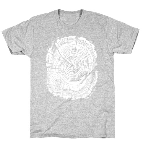 Tree Growth Rings T-Shirt