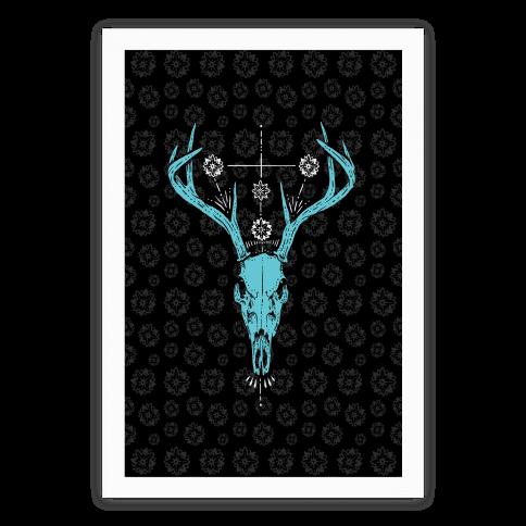 Mystic Skull Poster