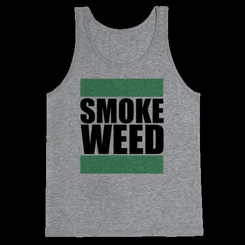 Smoke Weed Tank Top