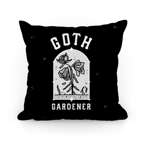 Goth Gardener Pillow