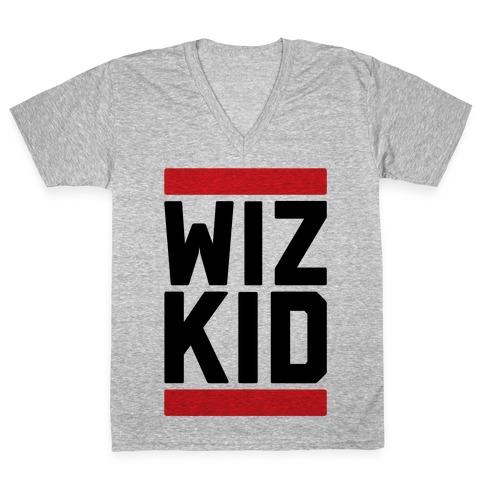 Wiz Kid V-Neck Tee Shirt