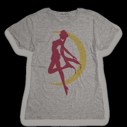 Magical Moon Girl Womens T-Shirt