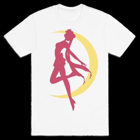 Magical Moon Girl Mens T-Shirt