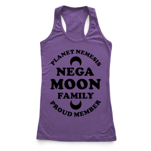 Negamoon Family Proud Member Racerback Tank Top