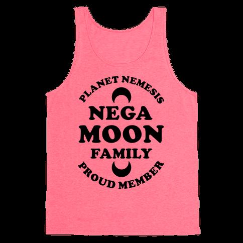 Negamoon Family Proud Member Tank Top